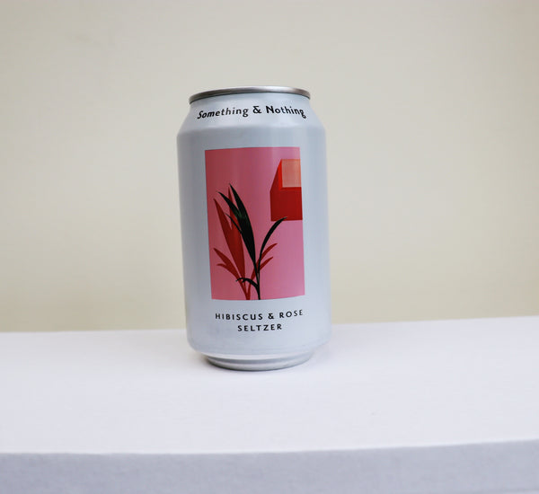 Hibiscus and Rose Seltzer by Something and Nothing