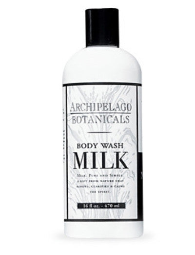 Archipelago Milk Body Wash 17oz