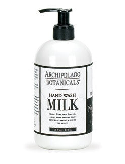 Archipelago MILK - Hand Wash, 16 oz.
