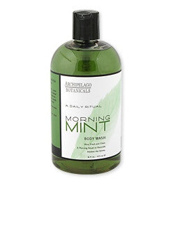 Archipelago Morning Mint Body Wash, 16 oz.