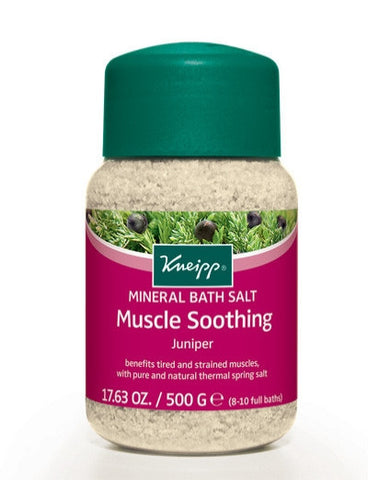 Kneipp Muscle Soothing Mineral Bath Salt: Juniper