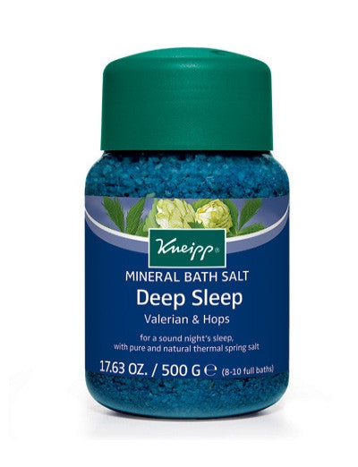 Kneipp Deep Sleep Mineral Bath Salt: Valerian & Hops
