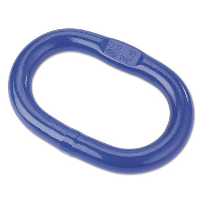 V10 Oblong Master Links, 5,920 lb Load, Peerless Blue