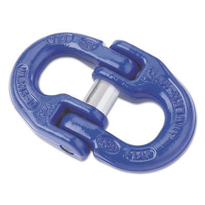 V10 Alloy Coupling Links, 42,700 lb Load, Peerless Blue