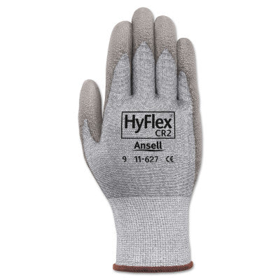 HyFlex Dyneema/Lycra Work Gloves, Size 7, Gray