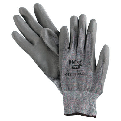 HyFlex Dyneema/Lycra Work Gloves, Size 9, Gray