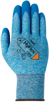 Hyflex Oil Repellent Gloves, 6, Blue