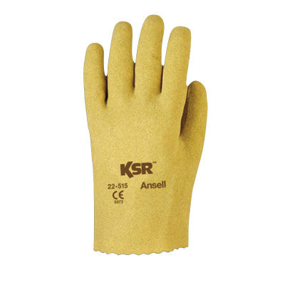 KSR Multi-Purpose Vinyl-Coated Gloves, 9, Tan