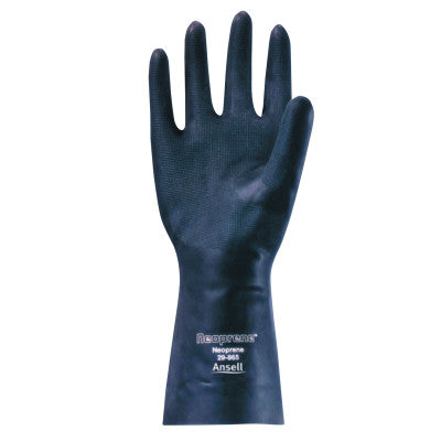 Neoprene Gloves, 9, Black