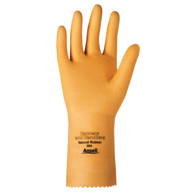 Versatouch Canners Gloves, Natural Latex, Natural, 10