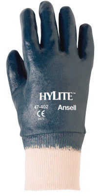 HyLite Fully Coated Gloves, 7, Blue