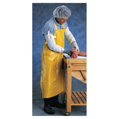 CPP Supported Neoprene Apron, 35 in x 45 in, Yellow