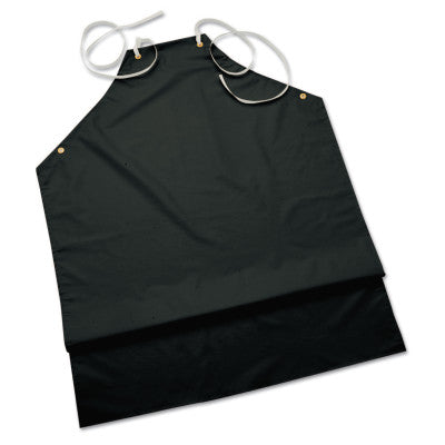 CPP Supported Aprons, 35 in X 45 in, Hycar, Black