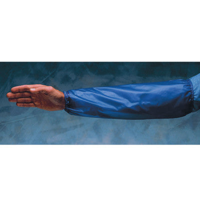 Arm Protection Sleeves, Elastic on Both Ends, One Size Fits Most, Blue/Clear