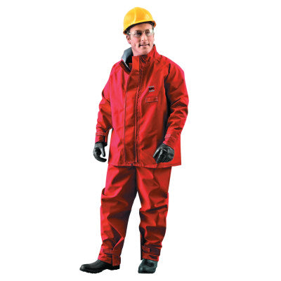 Alphatec Polyester Trilaminate Jackets, Medium, Red