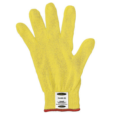 Neptune Lightweight Industrial Gloves, Size 9, Yellow