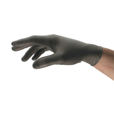 TouchNTuff Nitrile Gloves, Unlined, X-Large, Anthracite