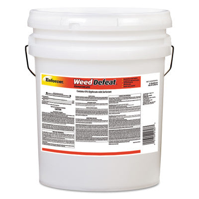 Weed Defeat Concentrate, 5 gal, Plastic Container