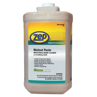 Walnut Paste Hand Cleaners, Vanilla, Bottle, 1 gal