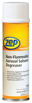 Non-Flammable Solvent Degreasers, 20 oz Aerosol Can