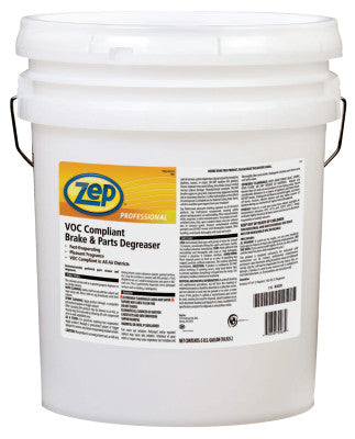 VOC Compliant Brake & Parts Degreasers, 5 gal Pail