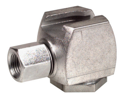 Button Head Coupler, Female/Female, 1/8 in, Standard pull-on type
