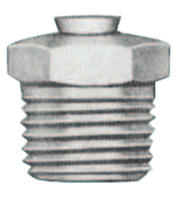 Relief Fittings, Straight, 1/2 in, Male/Male, 1/8 in (PTF), 5 psi