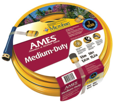 All Weather Garden Hoses, 5/8 in X 100 ft, Yellow