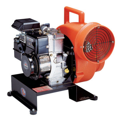Centrifugal Ventilation Blowers, 5.7 hp Gasoline Powered