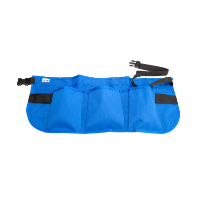 14-Pocket Waist Aprons, 24 in x 10 in, Nylon, Blue