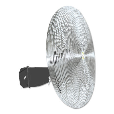 Commercial Oscillating Air Circulator, Wall/Ceiling Mount, 30in, 1/4 hp, 3-Speed