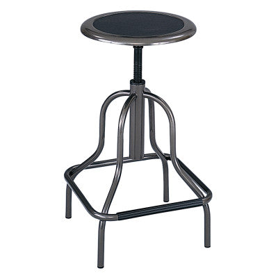 STOOL-HIGH BASE-BK