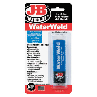Water Weld Compounds, Tube, White