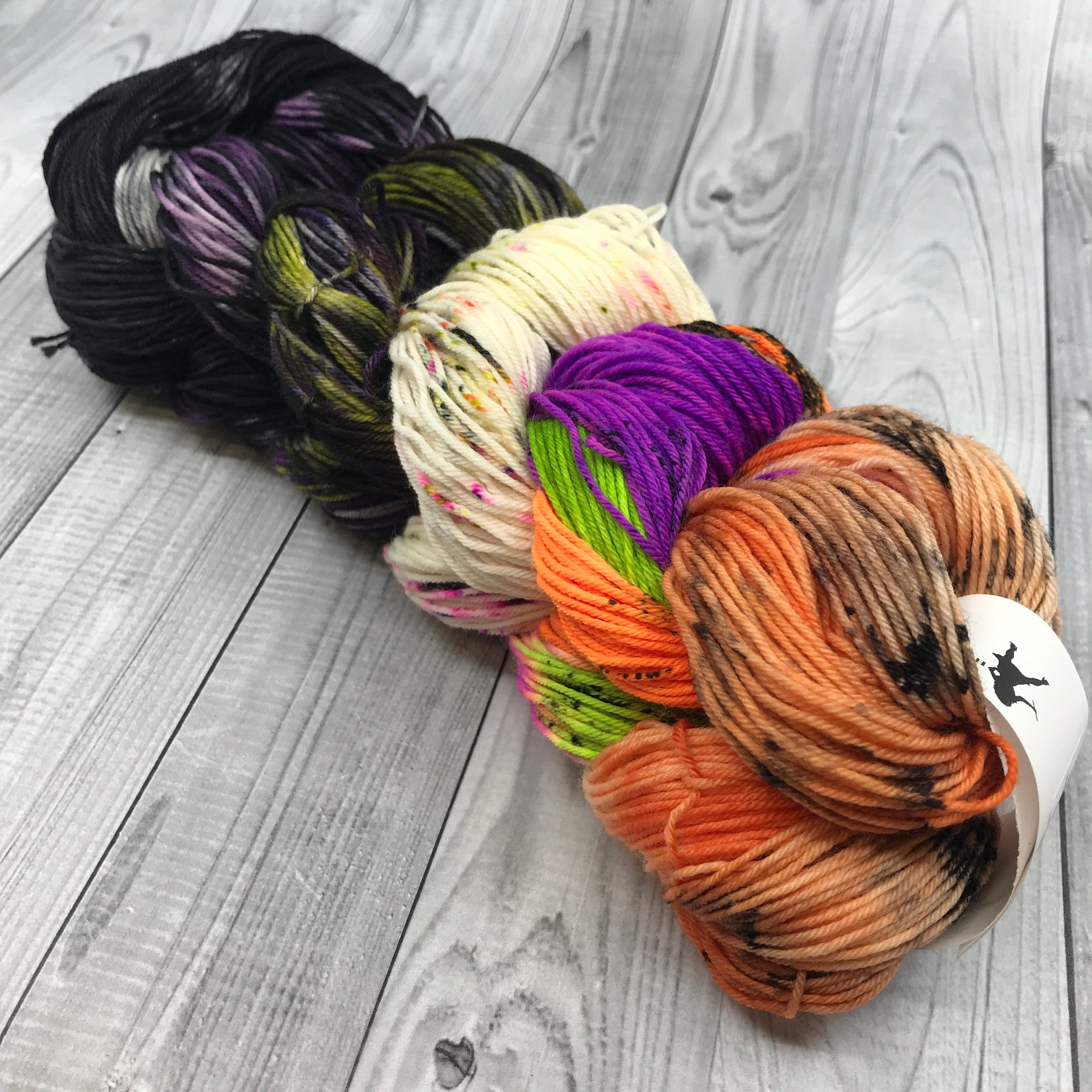 Jimmy Sock Mini Skein Set- Halloween Fun