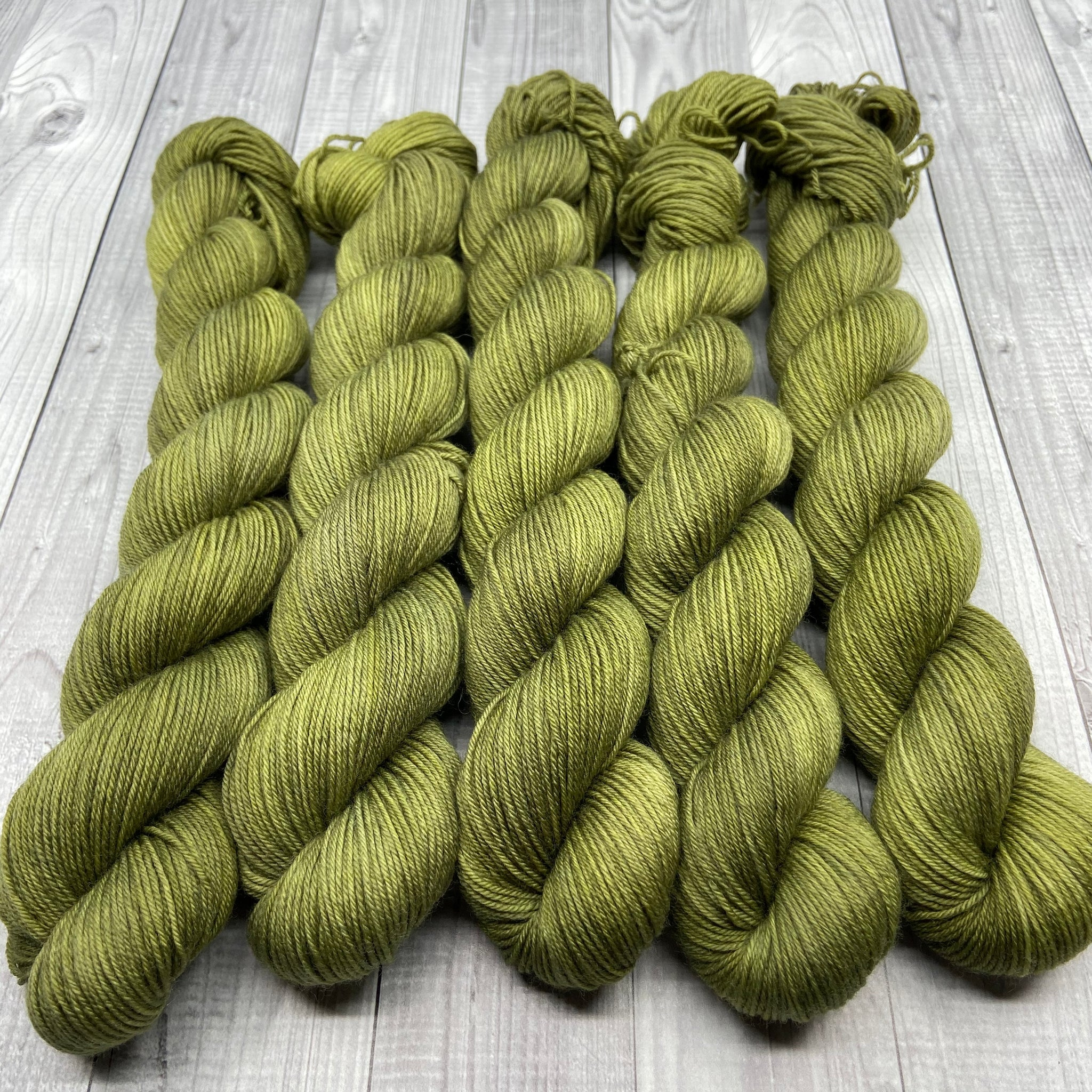 Jimmy Sock- Mini Skein - Burnt Grass