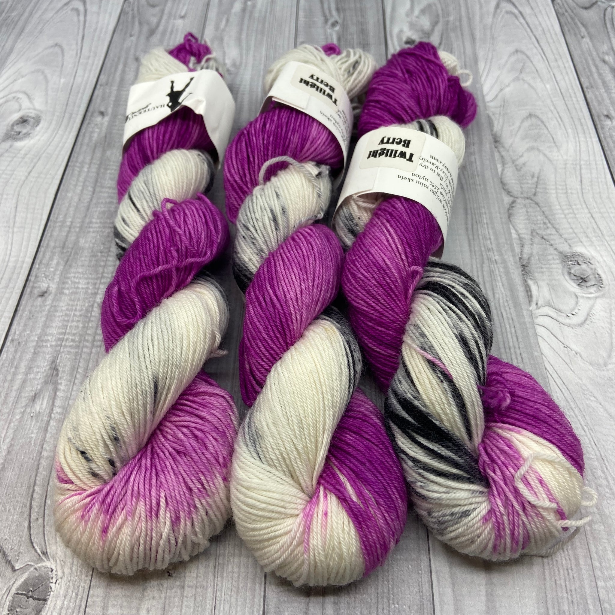 Jimmy Sock- Mini Skein - Twilight Berry