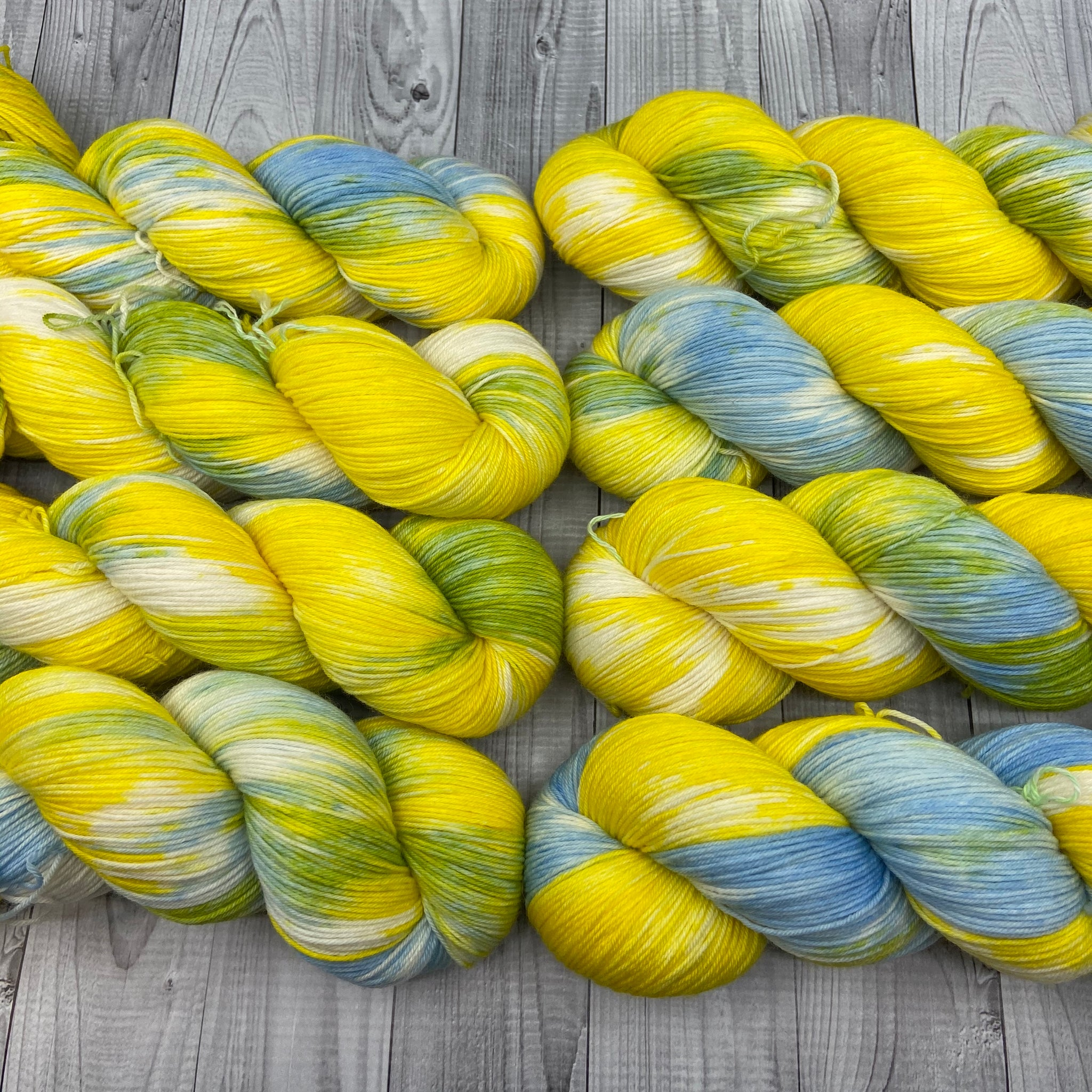 Dyed By Eloise Jimmy Sock- Morning Day Rise