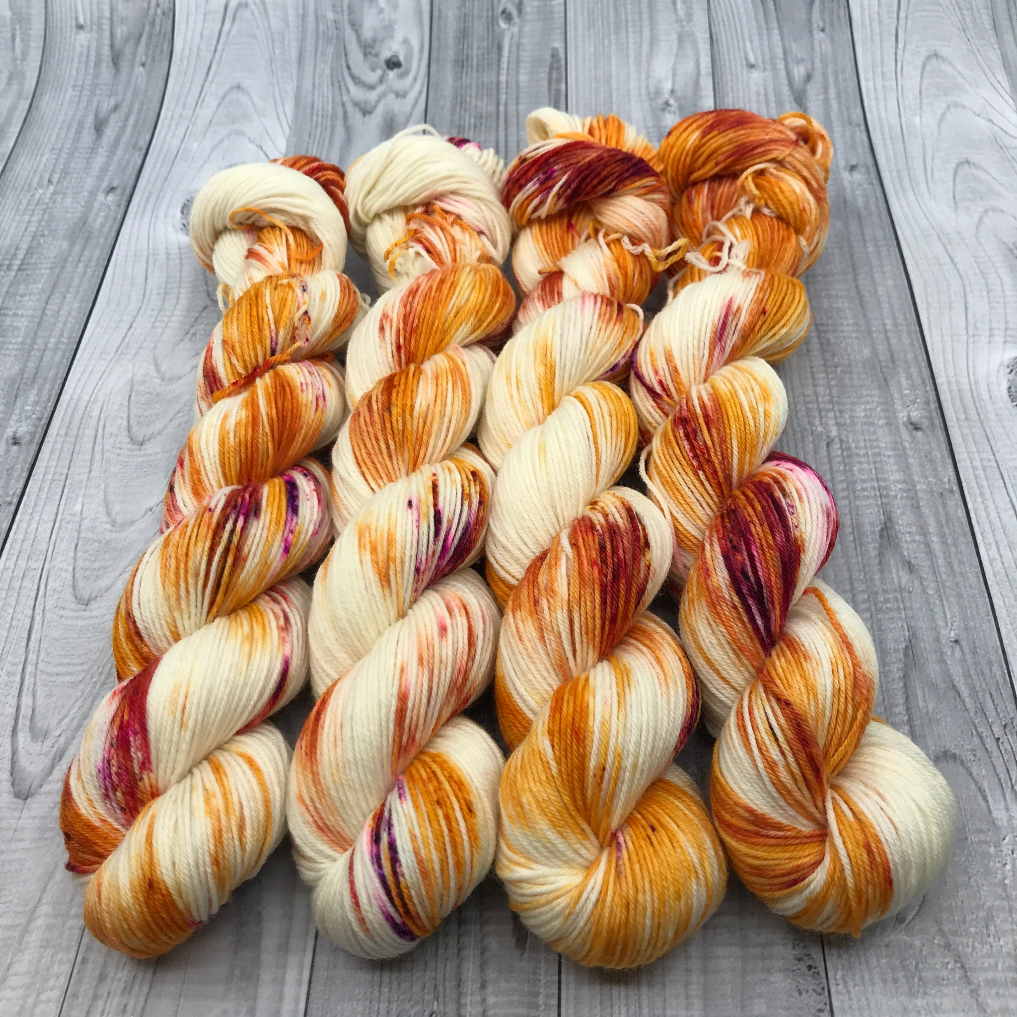 Fade Set Jimmy Sock Mini Skeins - Tequila Combo