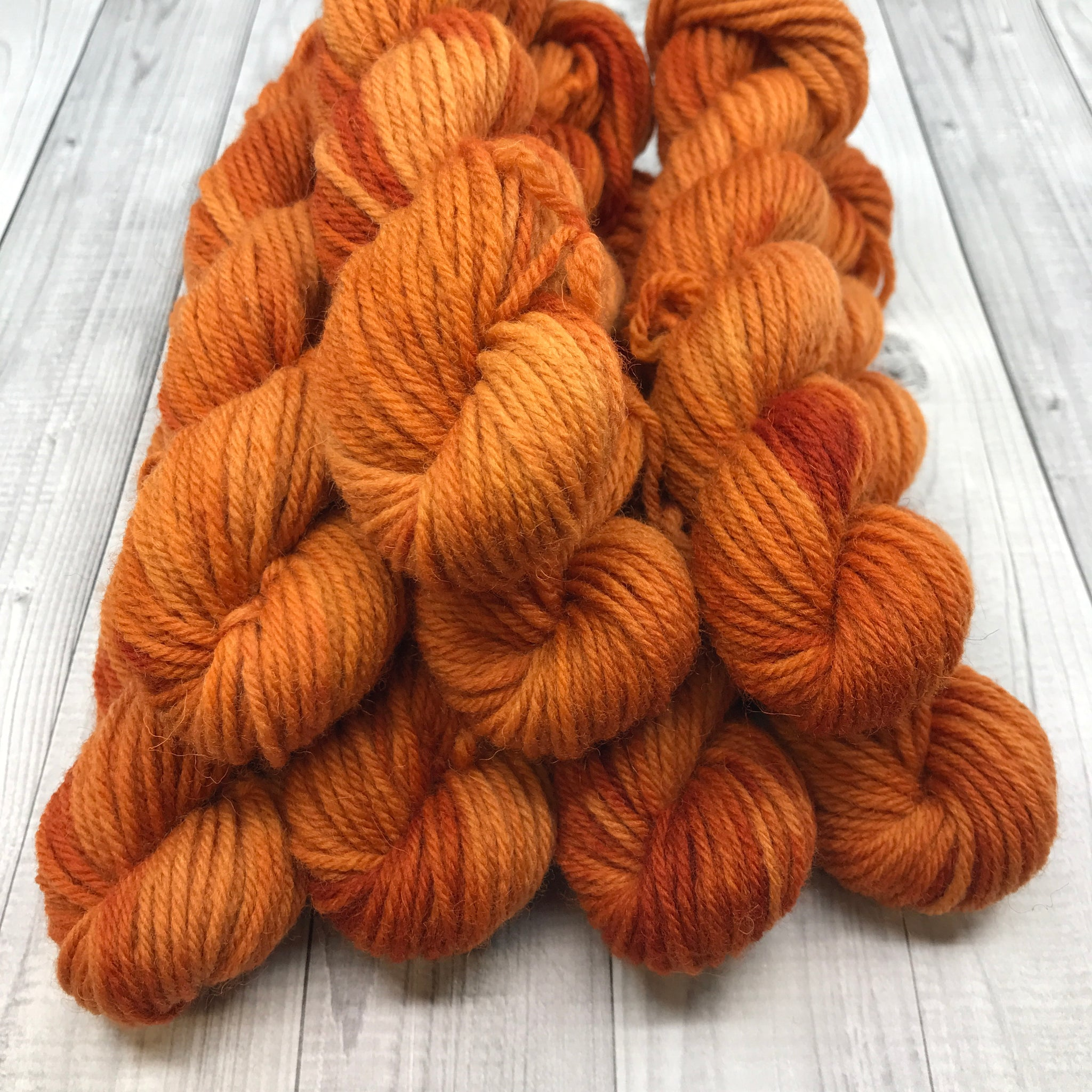 Hunter Highland DK - 20g Mini Skein- 2019 Fall- Pumpkin Please