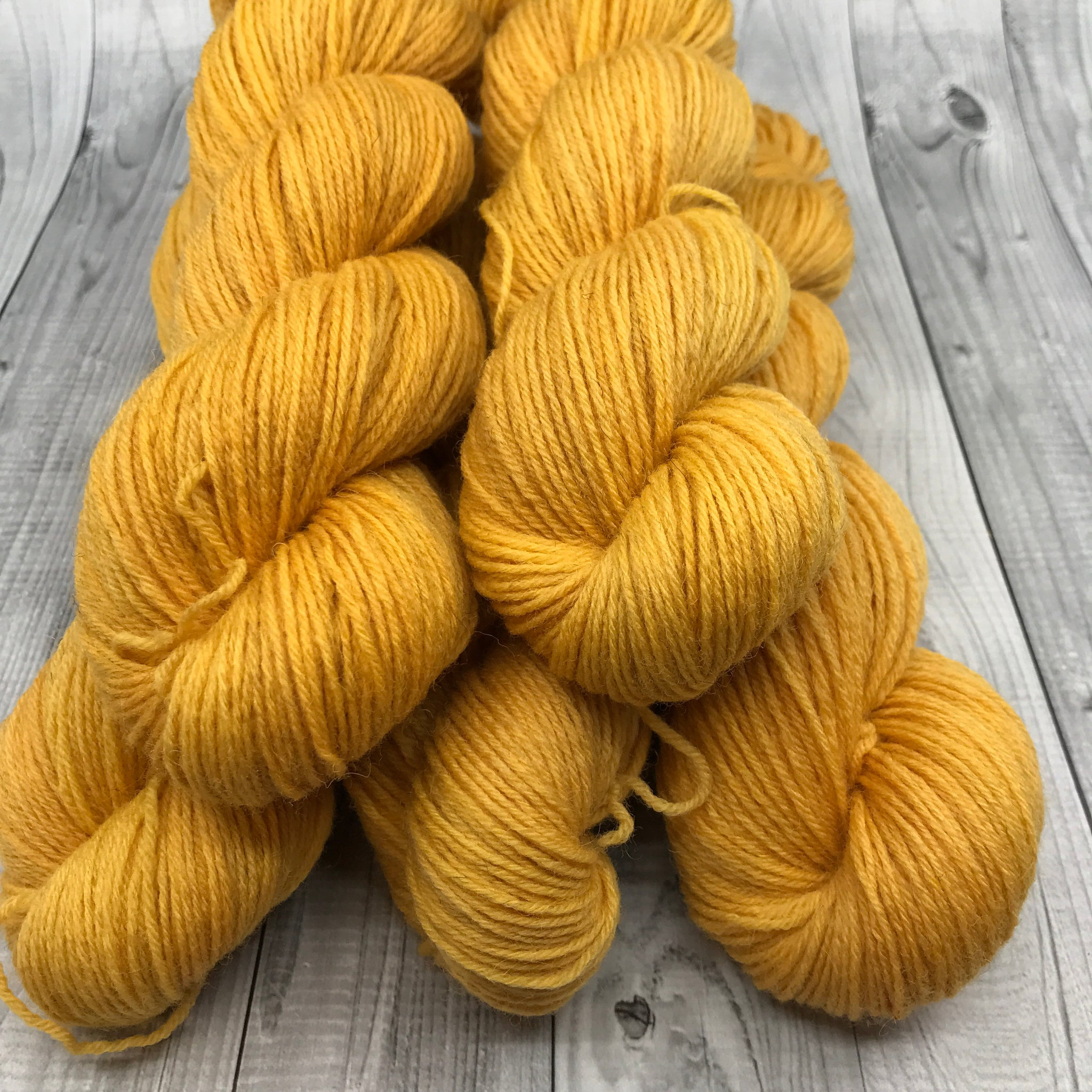 Hunter Highland Fingering - 50g Mini Skein- Fall 2019- Warm Fall Sun