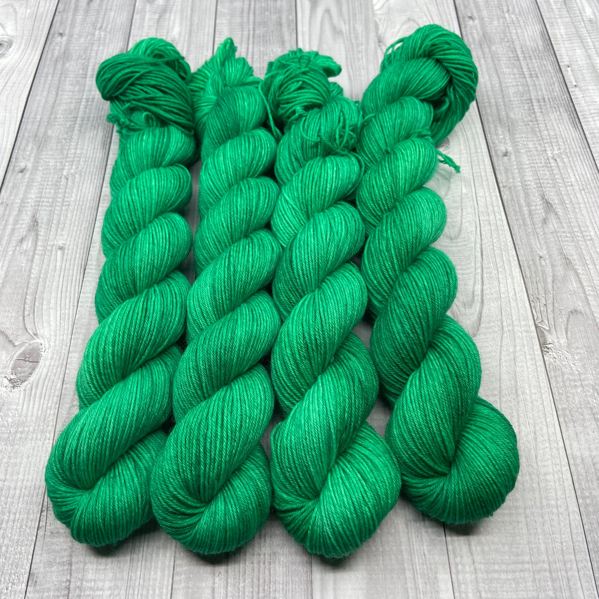 Jimmy Sock- Mini Skein - Emerald Sparkle
