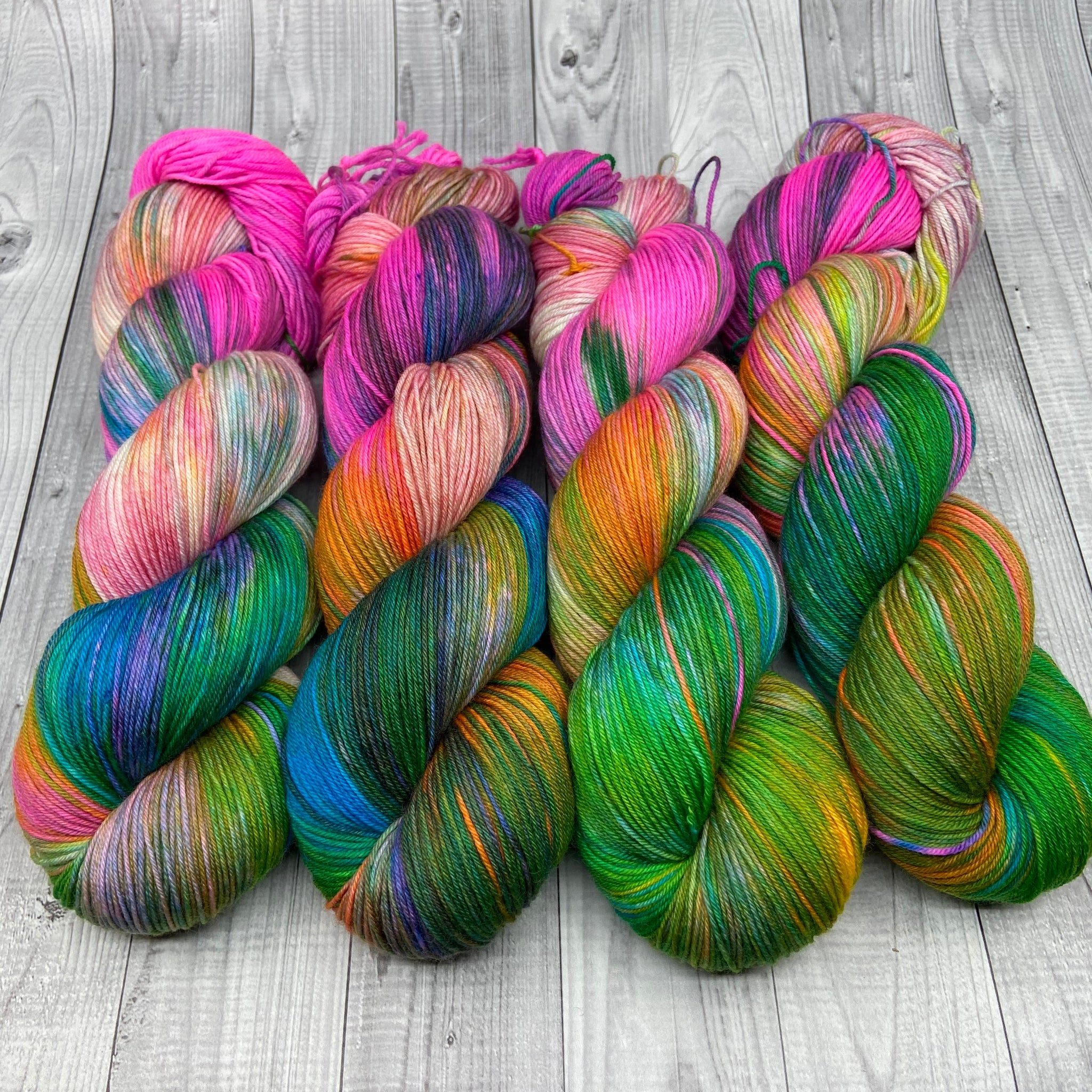 Dyed By Eloise Jimmy Sock- Jojo's Rainbow Castle batch 2
