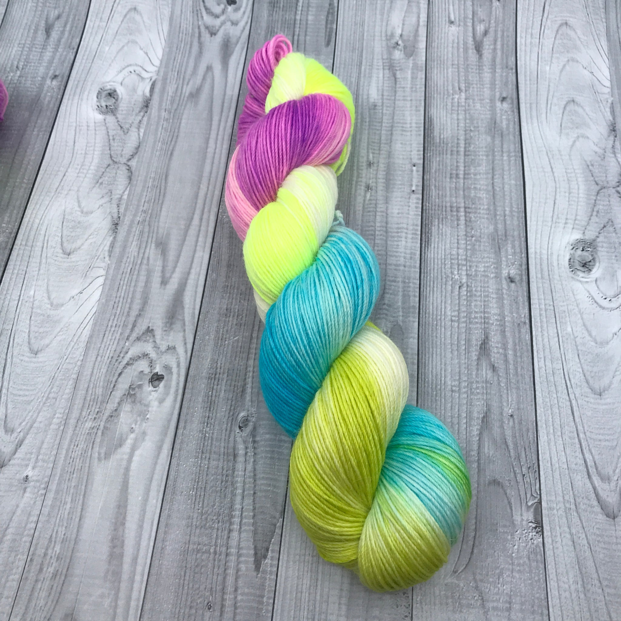 Beatriz Alpaca Sock- Rainbow Hair