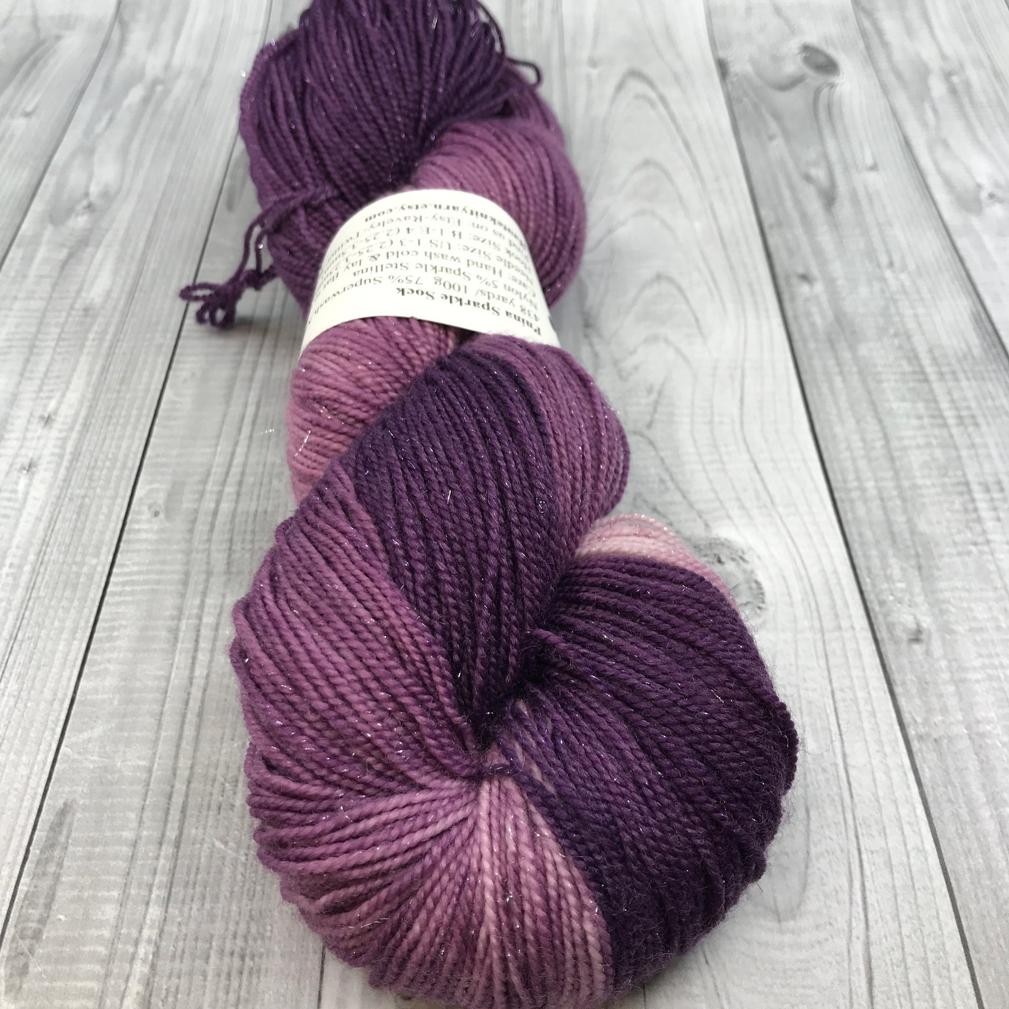 Pnina Sparkle Sock- Stop And Smell the Lilacs