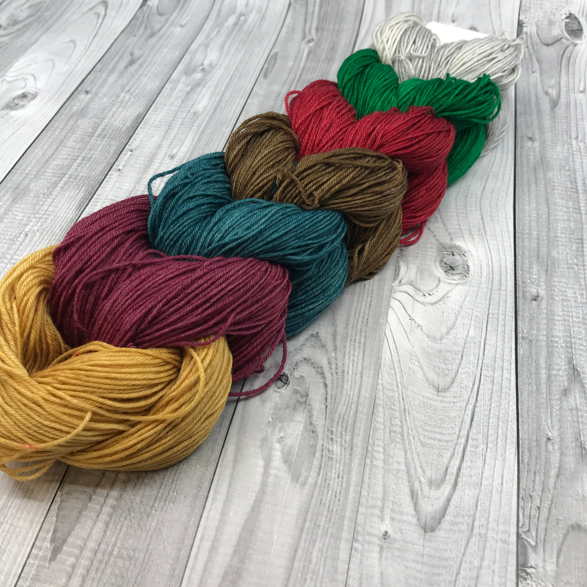 Jimmy Sock Mini Skein Set- Christmas Bells