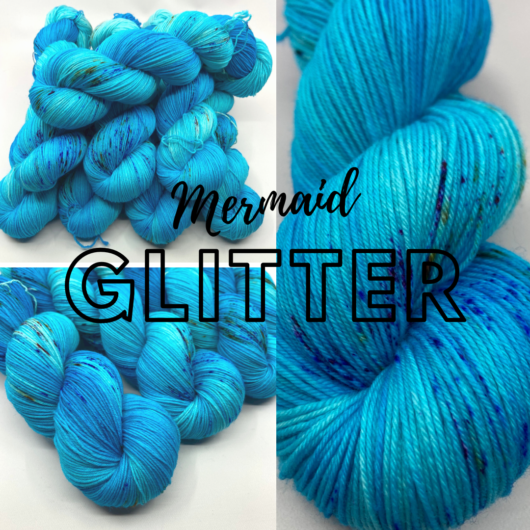 Jimmy Sock- Mermaid Glitter