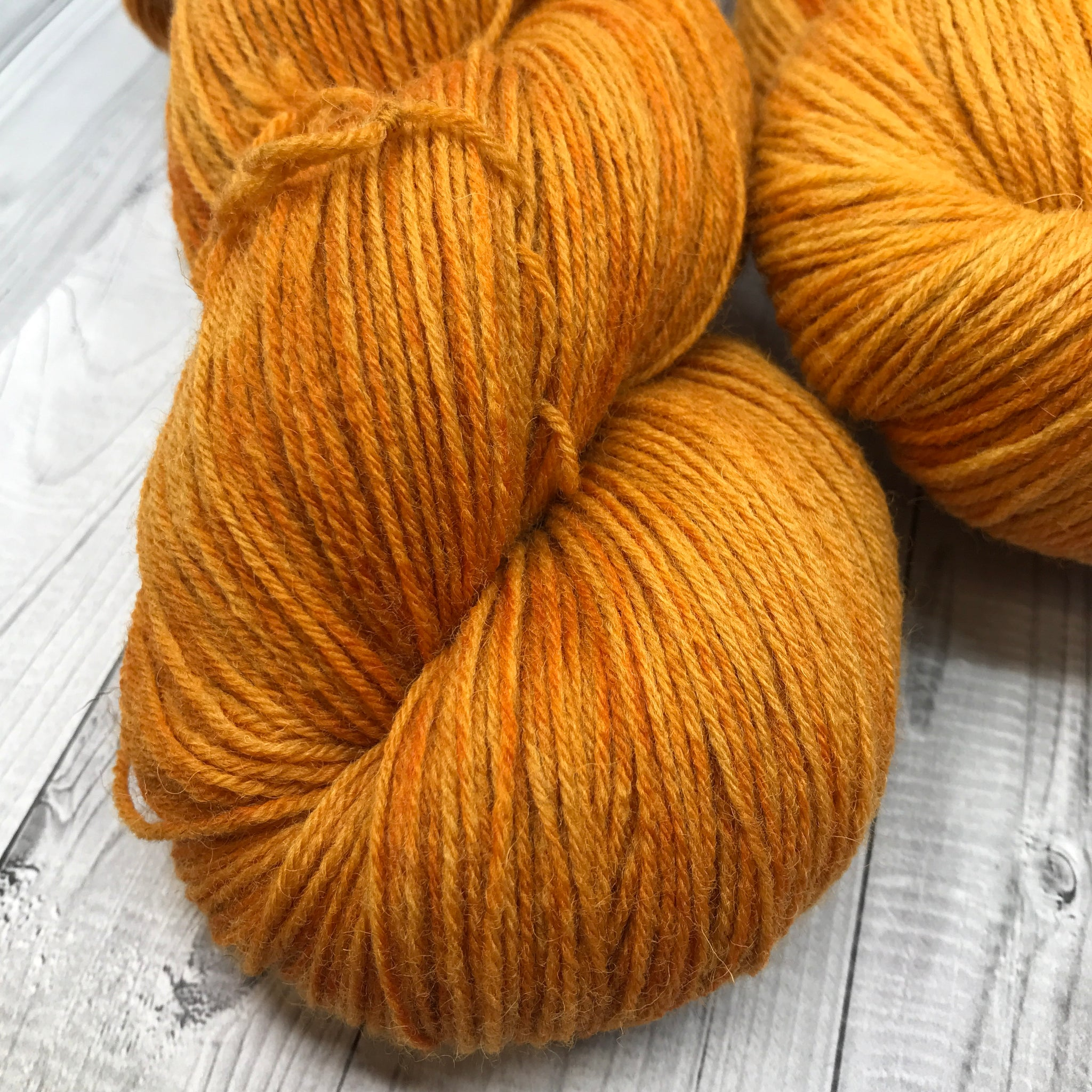 Hunter Highland Fingering - Fall 2019- Pumpkin Please