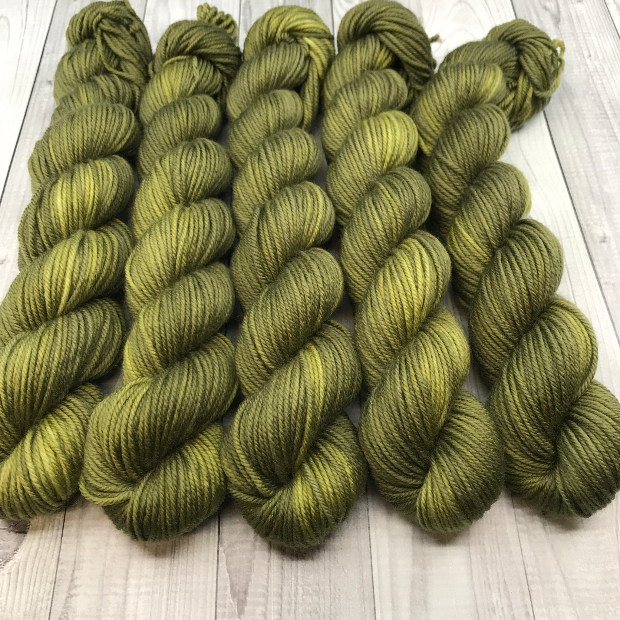 Trevor Morgan DK - Mini Skein- Burnt Grass