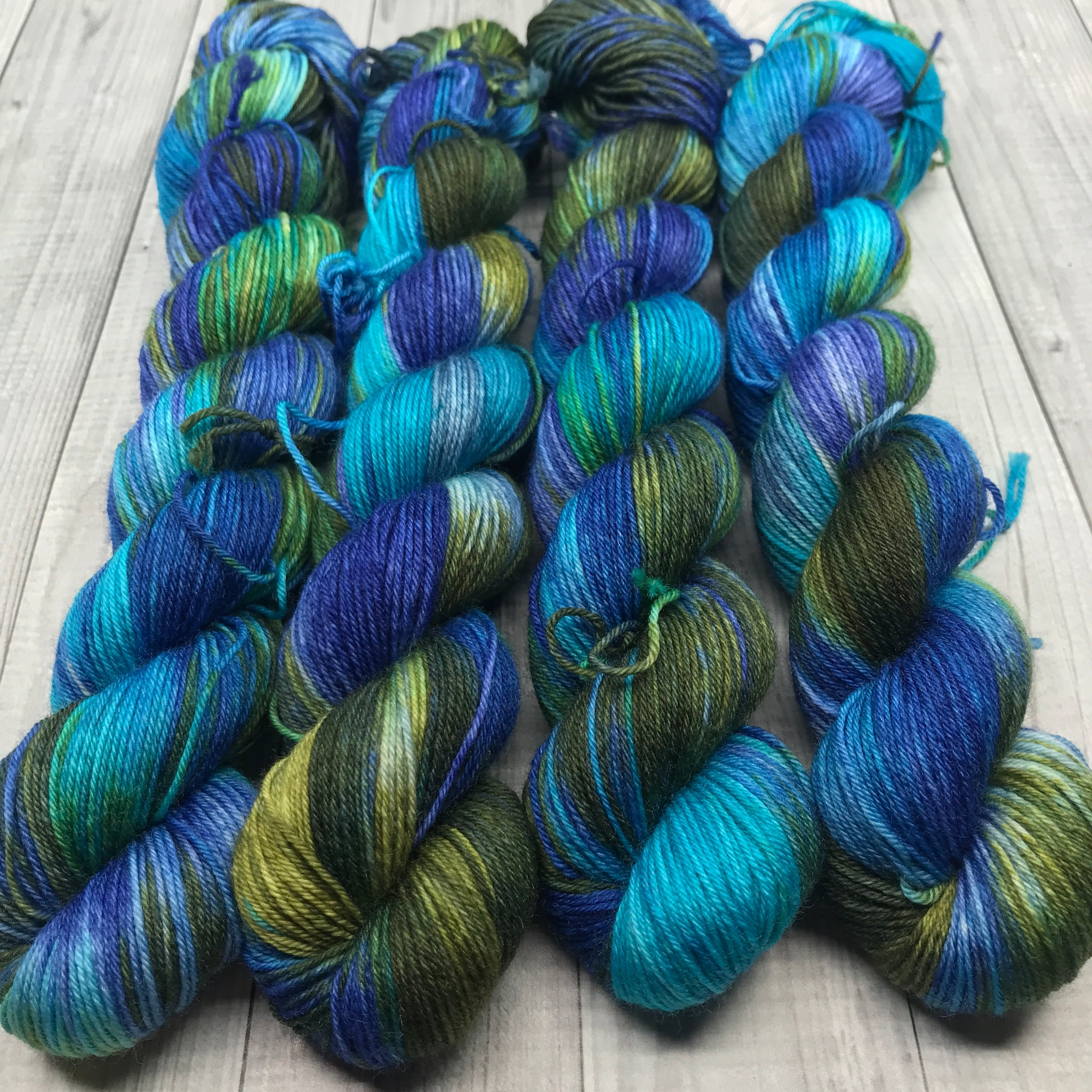 Jimmy Sock- Mini Skein - Winter Ocean
