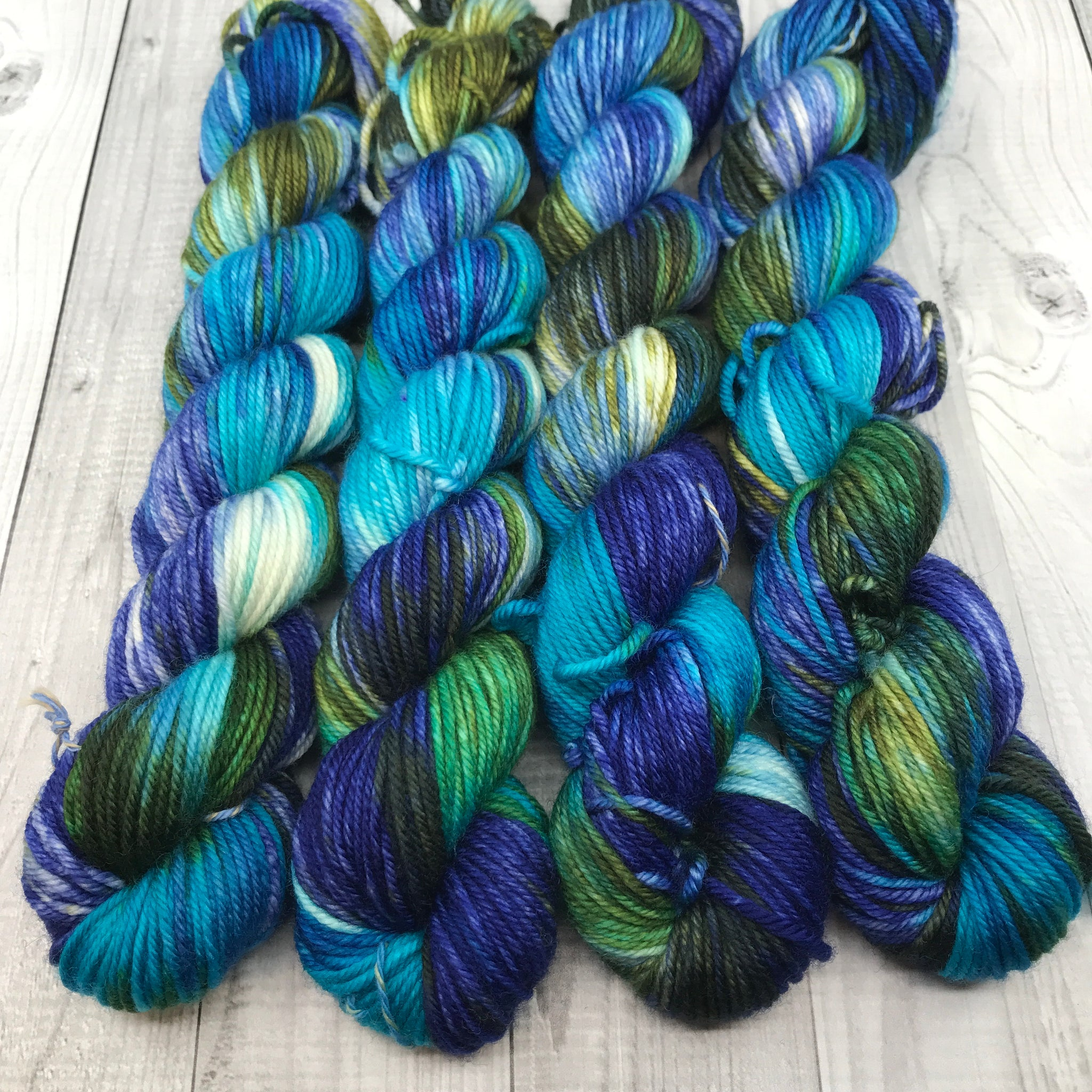 Trevor Morgan DK - Mini Skein- Winter Ocean